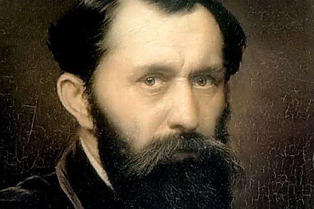 Русский живописец Василий Перов, автопортрет 1879 г.