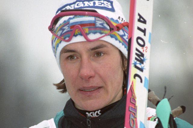 Любовь Егорова, знаменитая советская и российская лыжница, шестикратная олимпийская чемпионка.
