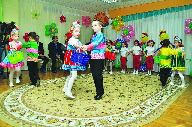 В Омске внедряют новые формы работы с дошколятами.