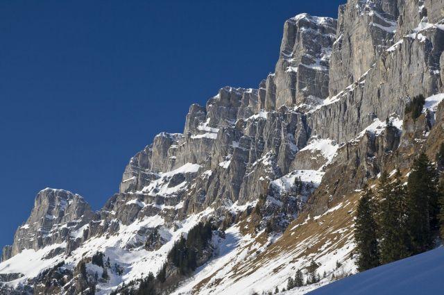 Горы в кантоне Гларус (Швейцария)