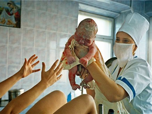 Роды в условиях приближенных к домашним 171
