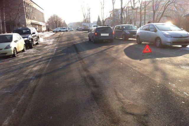 ДТП в поселке Вольно-Надеждинское