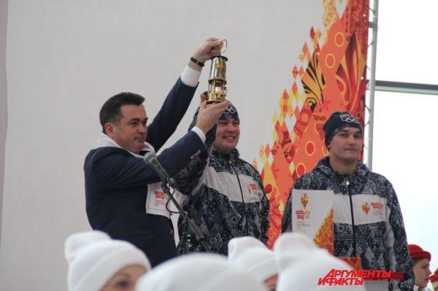 Олимпийский огонь - во Владивостоке!
