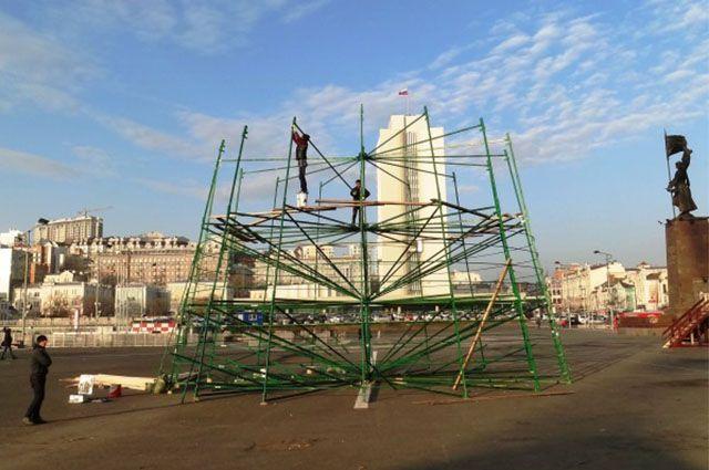 Высота городской ёлки будет 32 метра.