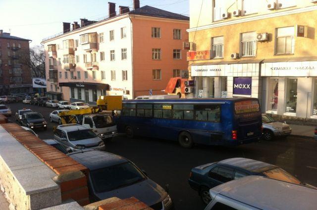 Нарушение ПДД водителем маршрутного транспорта