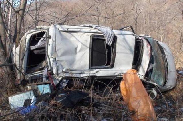 Несоблюдение скоростного режима приводит к аварии