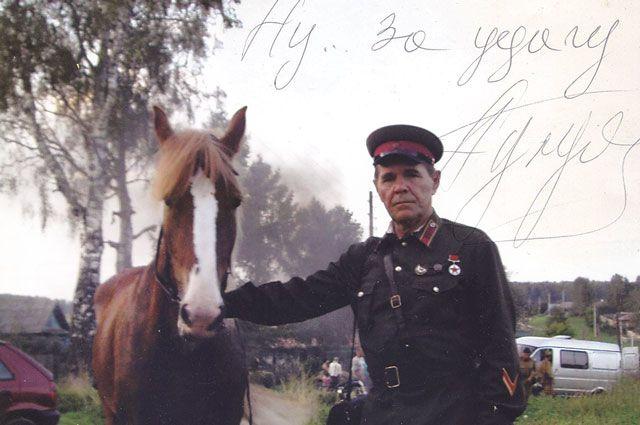 У актёра Алексея Булдакова уже есть фото - талисман на новый год.