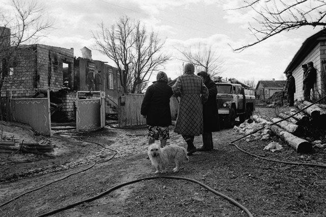 Огненная стихия уничтожила дом ветерана труда в Забайкалье