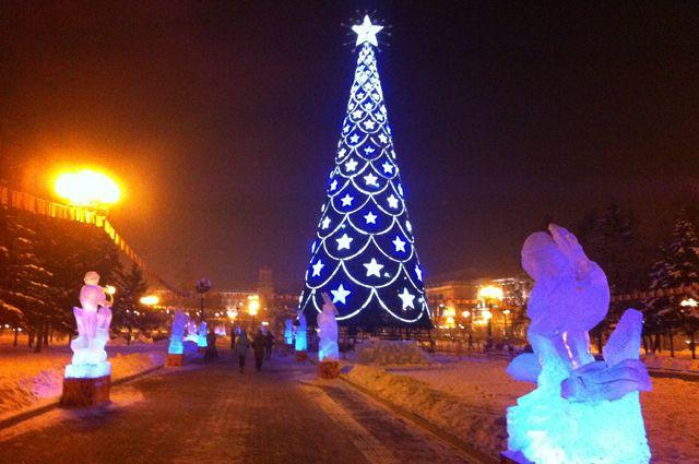 Иркутск на новый год 2018