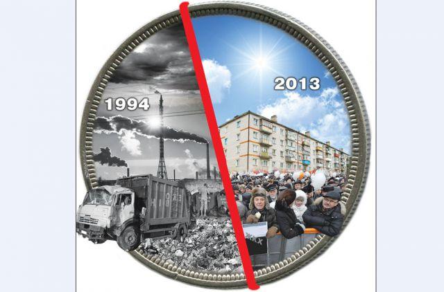Балахна-2013 заметно отличается от Балахны 1990-х.