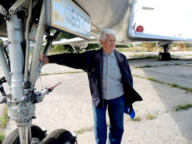 Рэм Чернышев - ветеран неба.