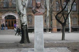 Бюст Шевченко на Украине