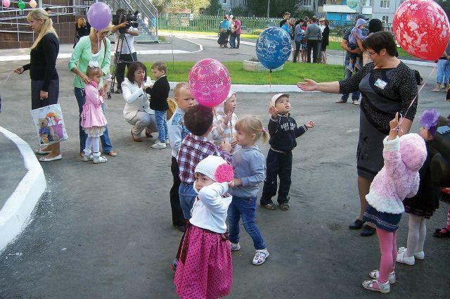 Работа с детьми в детском саду