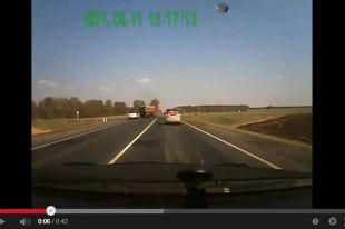 Обзор дорожно-транспортный происшествий в Омске.