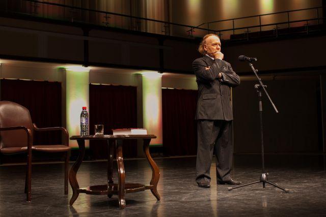 Авторский вечер Эдварда Радзинского в Омске.