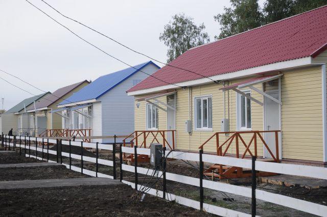 Строительство жилья в сёлах Омской области