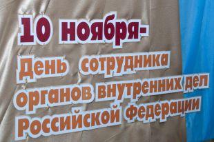 День сотрудников органов внутренних дел Российской Федерации отметили 10 ноября.