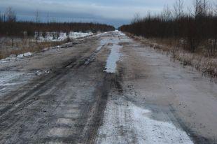 Сельские дороги не всегда находятся в удовлетворительном состоянии.
