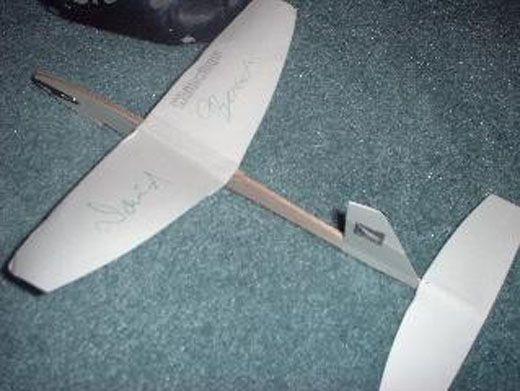 Как сделать бумажный планер