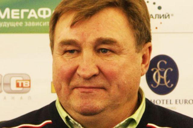 Главный тренер сборной Санкт-Петербурга по футболу Владимир Казаченок