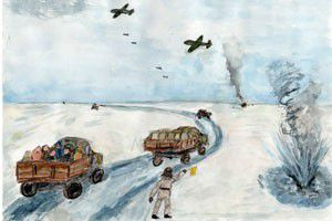 Рисунки конкурса «Война, Блокада, Победа! Глазами детей ...