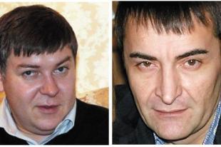 Владимир Рева (справа)