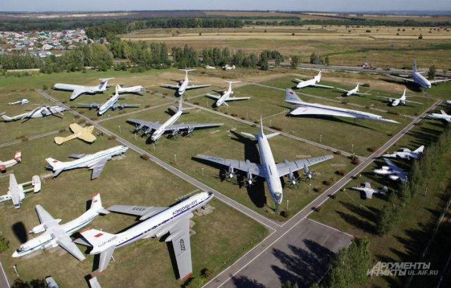 Вид на музей с высоты птичьего полёта.