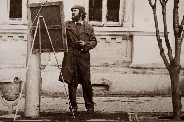Успеть запечатлеть на полотне старый Симбирск… 1980 год.