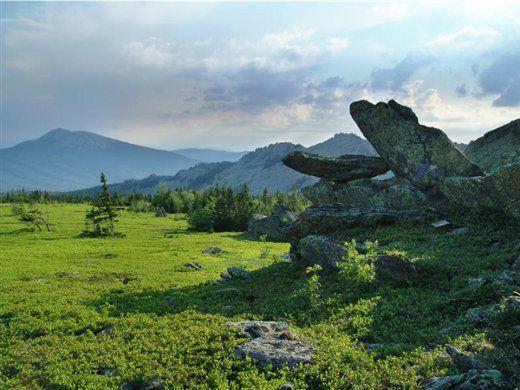 Природные памятники Челябинского региона
