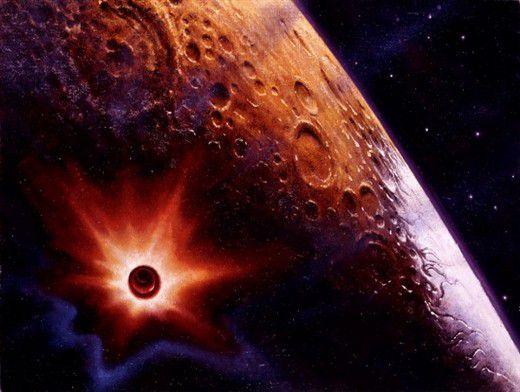 Астероид, размером с челябинский метеорит