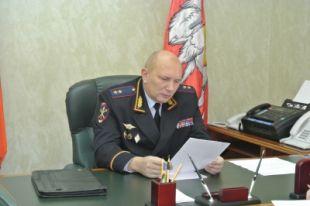 Начальник ГУ МВД России по Челябинской области Владимир Скалунов