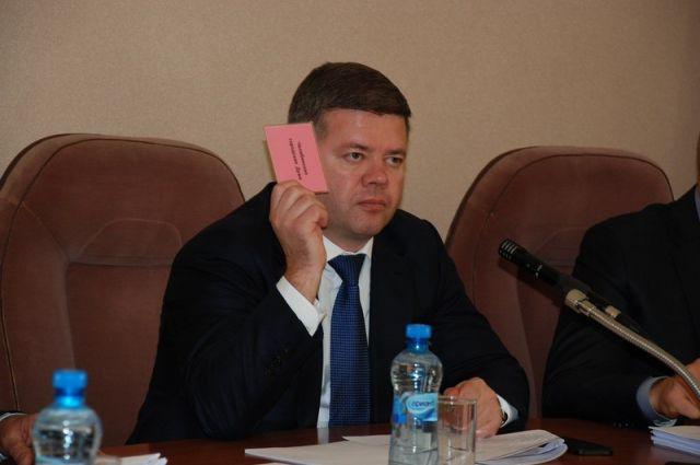Председатель Челябинской городской Думы Станислав Мошаров