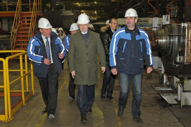 Борис Дуброский посетил ЧМК