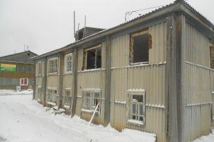 Дом по улице Ленина перед сносом