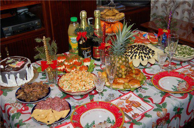 Что приготовить для праздничного стола в новый год