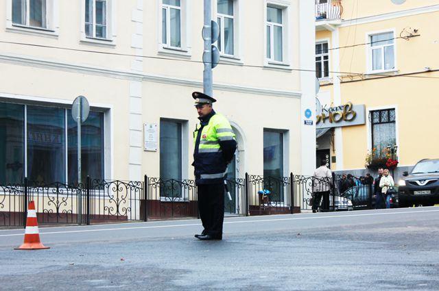 Одна из последних аварий произошла прямо в центре Смоленска