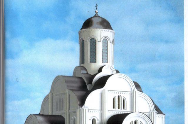 Троицкий собор в Смоленске, реконструкция Татьяны Каменевой.