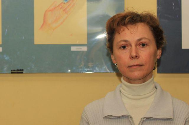 Это первая крупная выставка Людмилы Минаевой.