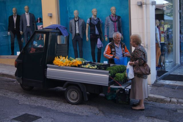 Мелкий бизнес пенсионеров на Корфу.