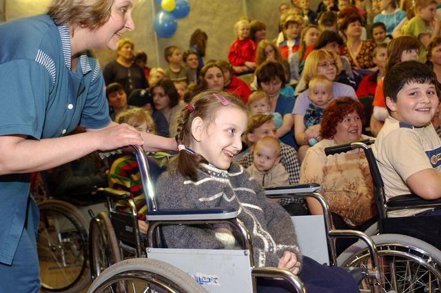 детей с инвалидностью вводить в общество тут!! Если