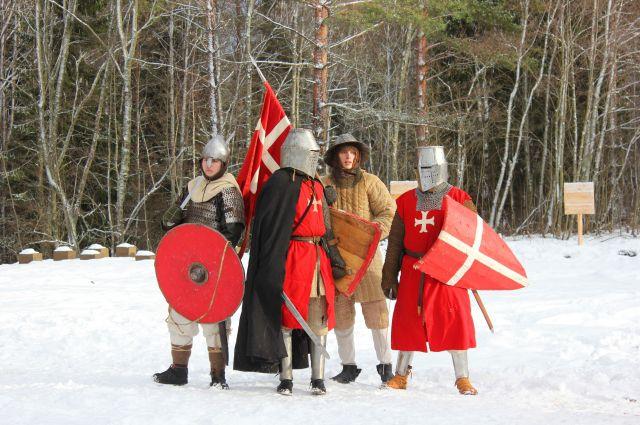 В Смоленском поозерье поселились рыцари.