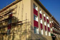 Во время проектирования домов была предусмотрена максимальная площадь квартир.