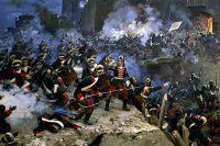 «Штурм Измаила 11 декабря 1790 года», фрагмент диорамы.