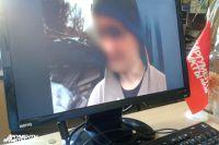 Кадр видеозаписи допроса подозреваемого.