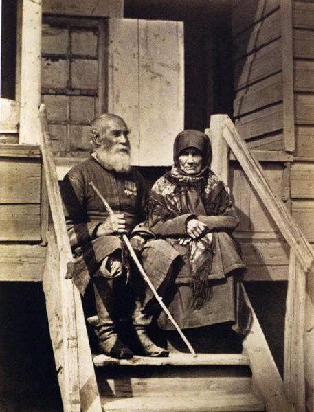 Донской казак 73-х лет с женой