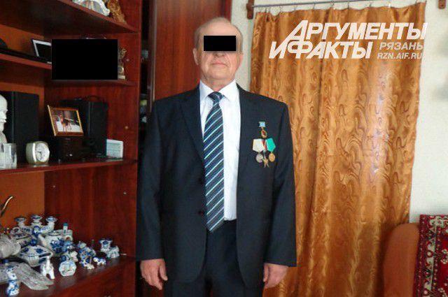 Подозреваемый в педофилии 69-летний пенсионер.