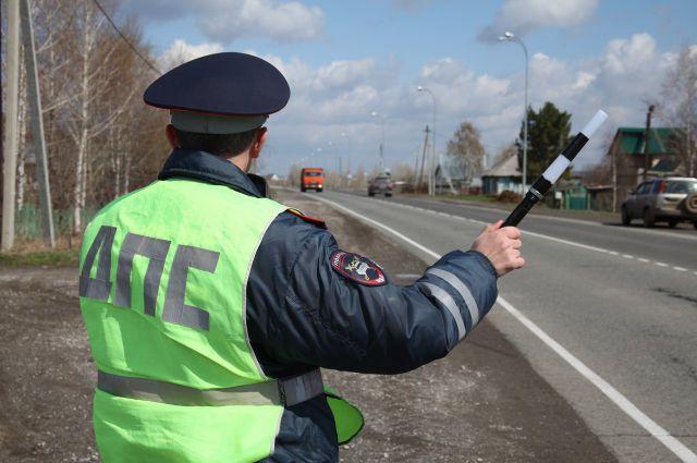 В Омске задержали рецидивиста-нарушителя ПДД.