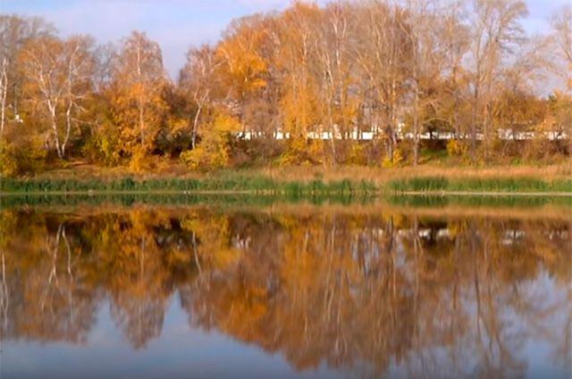 Озеро Волчок.