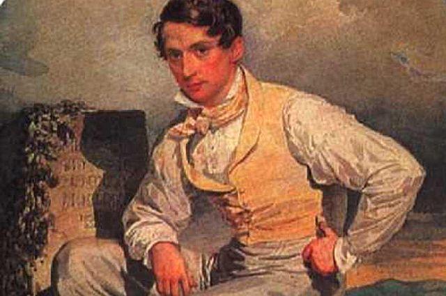 Автопортрет Александра Брюллова. 1830 год