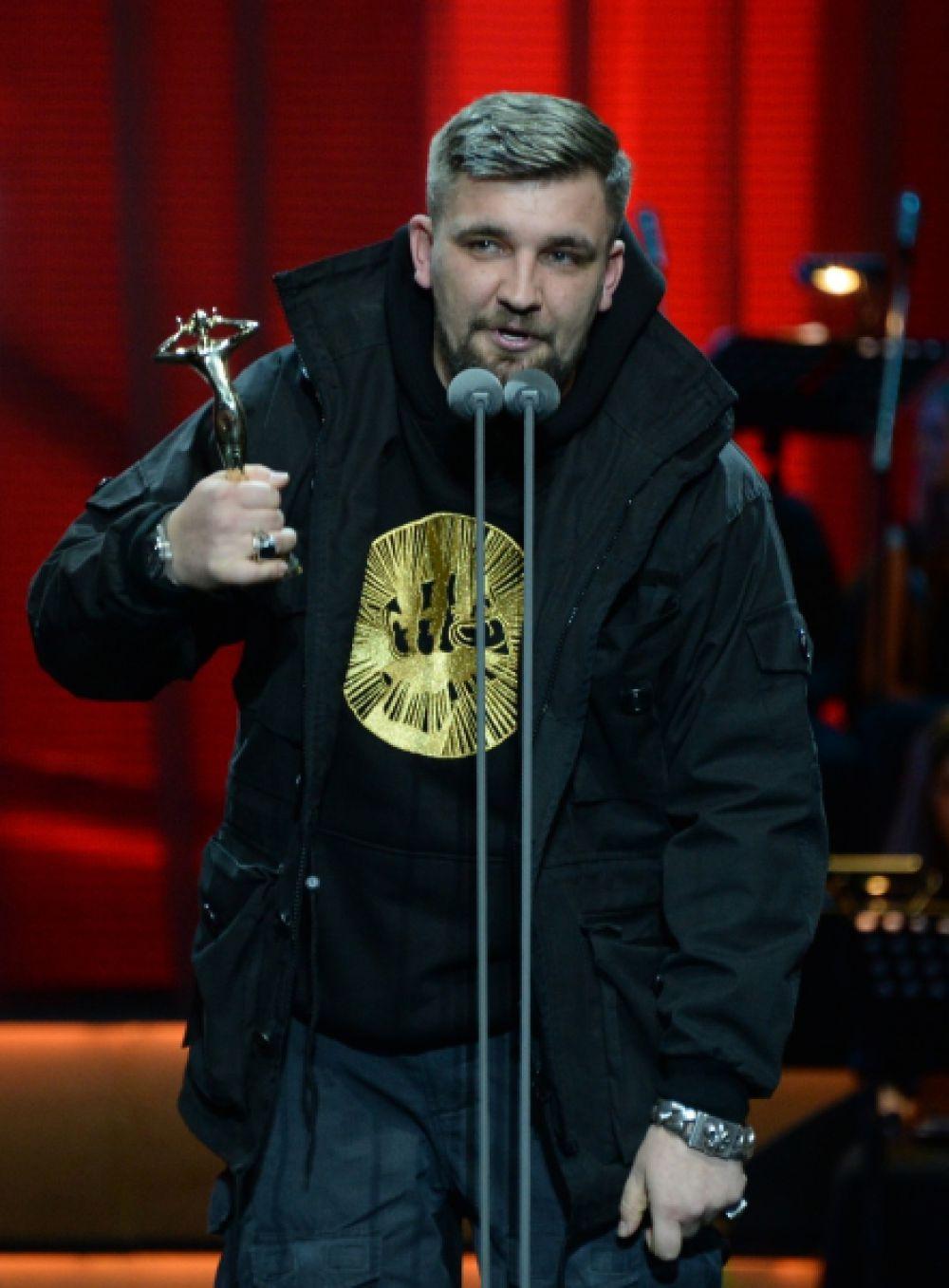 В номинации «Лучший хип-хоп проект» победил Баста.